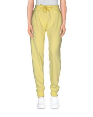 Повседневные брюки CATCH22. Цвет: светло-желтый