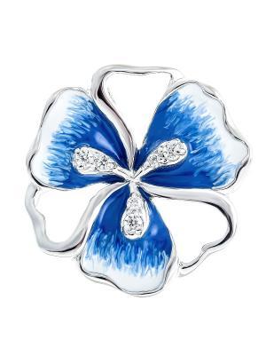 Подвеска Teosa. Цвет: синий, серебристый, белый
