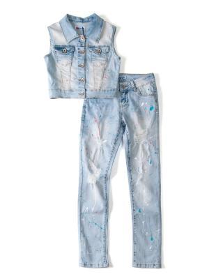 Комплект одежды I love to dream. Цвет: голубой