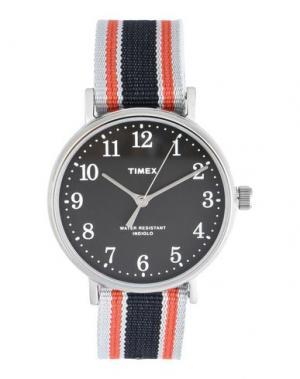 Наручные часы TIMEX. Цвет: черный