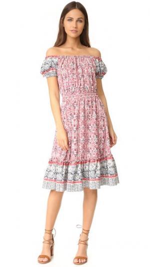 Платье Agnes MISA. Цвет: tu4