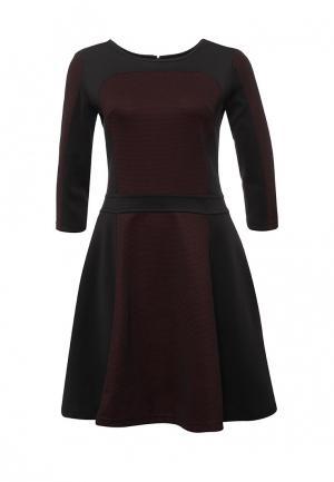 Платье Tom Farr. Цвет: бордовый