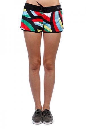 Шорты пляжные женские  Nalu Boardshort Solid Black Rip Curl. Цвет: белый,черный,синий,красный,зелен