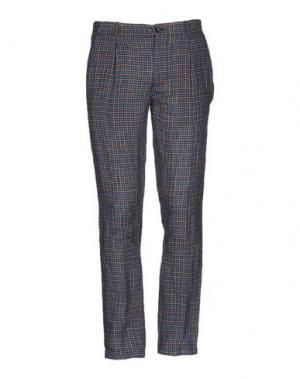 Повседневные брюки DANIELE ALESSANDRINI HOMME. Цвет: синий