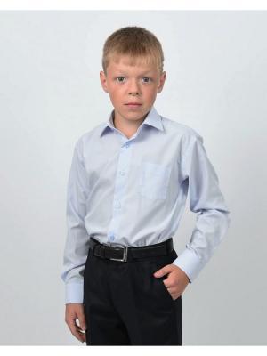 Рубашка  для мальчика HERDAL. Цвет: голубой