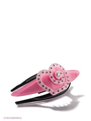 Заколка для волос Bijoux Land. Цвет: розовый