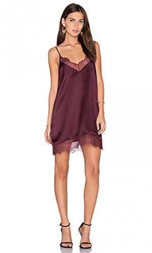 Платье the brooklyn CAMI NYC. Цвет: красное вино