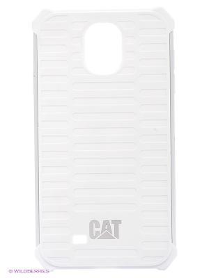 Противоударная защита для Samsung S4 Caterpillar. Цвет: белый