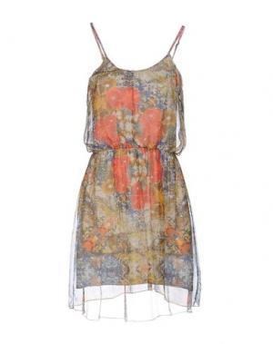 Короткое платье TWENTY EASY by KAOS. Цвет: охра