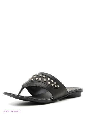 Пантолеты Felina shoes. Цвет: черный