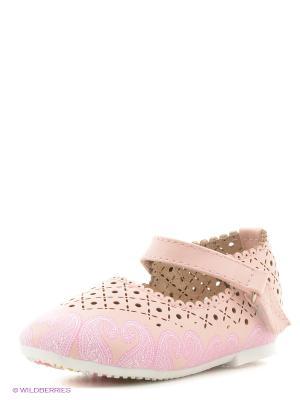 Балетки Vitacci. Цвет: розовый