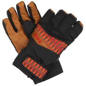 Перчатки женские  Tahoe Short Zun Zuni Dakine. Цвет: черный,коричневый
