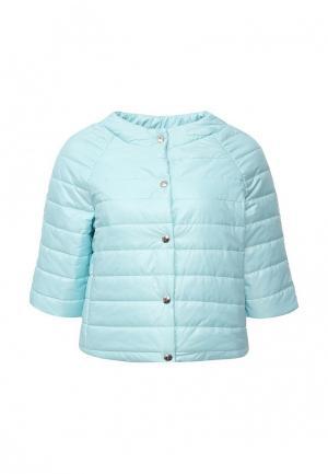 Куртка утепленная Aurora Firenze. Цвет: бирюзовый