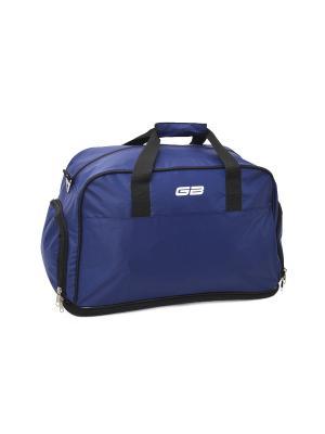 Сумка дорожная 148742 GOOD BAG. Цвет: синий
