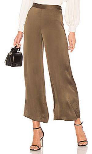 Широкие брюки cleric Rachel Comey. Цвет: оливковый