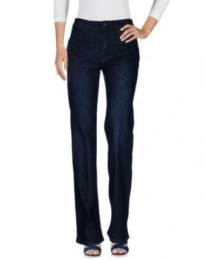 Джинсовые брюки INTROPIA. Цвет: синий