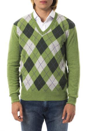 Pullover UominItaliani. Цвет: green and white