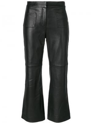 Укороченные расклешенные брюки LAutre Chose L'Autre. Цвет: чёрный
