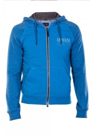 Олимпийка ARMANI JEANS. Цвет: голубой