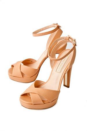 Туфли ALBA. Цвет: оранжевый