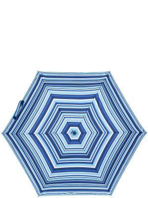 Зонт Labbra. Цвет: темно-синий, белый, голубой, синий