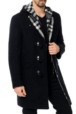 Пальто Dewberry. Цвет: navy