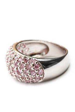 Кольцо ZAXA HADID. Цвет: розовый