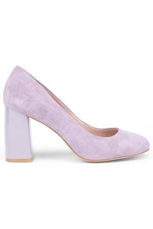 Туфли Milana. Цвет: бледно-розовый