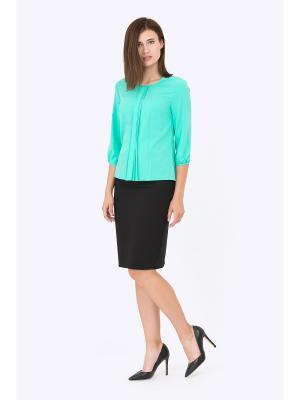 Блузка EMKA FASHION. Цвет: светло-зеленый