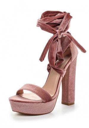 Босоножки Malien. Цвет: розовый