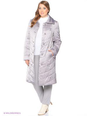 Утепленное пальто MONTSERRAT. Цвет: фиолетовый