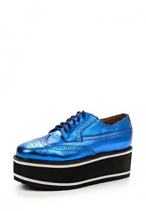 Ботинки Jeffrey Campbell. Цвет: синий