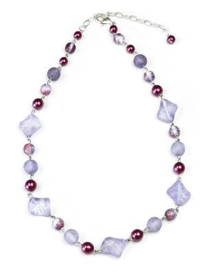 Ожерелье Bohemia Style. Цвет: серо-голубой