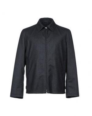 Куртка DUNHILL. Цвет: стальной серый