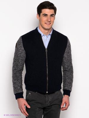 Куртка Fred Mello. Цвет: темно-синий
