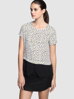 Блузка EASY WEAR. Цвет: белый