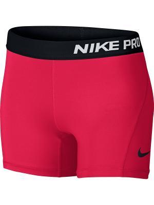 Шорты G NP CL SHORT BOY Nike. Цвет: розовый