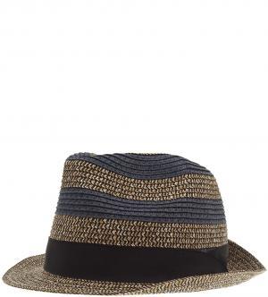 Шляпа Scotch&Soda. Цвет: бежевый, полоска, синий