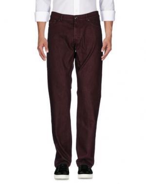 Джинсовые брюки HARMONT&BLAINE. Цвет: красно-коричневый