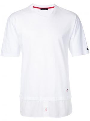 Классическая футболка Loveless. Цвет: белый