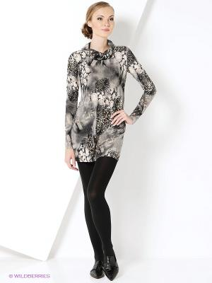 Туника Magnolica. Цвет: темно-серый