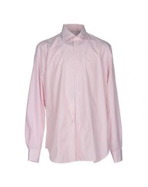Pубашка LEXINGTON. Цвет: розовый
