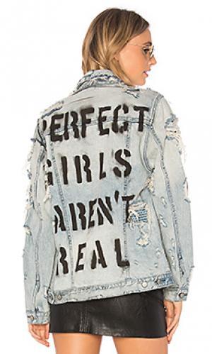 Джинсовая куртка love notes PRPS Goods & Co. Цвет: none