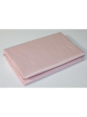 Простыня 1,5сп., 215*160 BegAl. Цвет: розовый