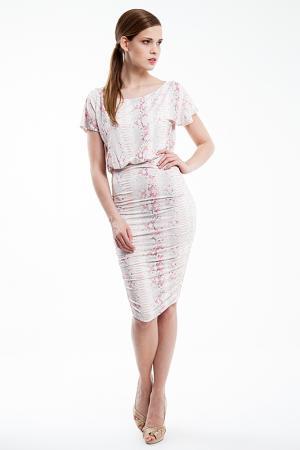 Платье Baukjen. Цвет: белый