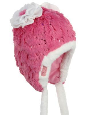 Шапка Olle. Цвет: розовый