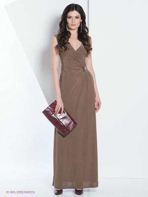 Платье МадаМ Т. Цвет: бежевый