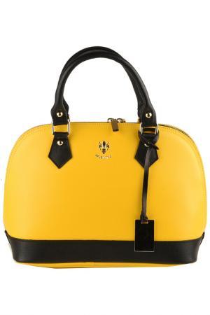 Сумка FLORENCE BAGS. Цвет: yellow, black