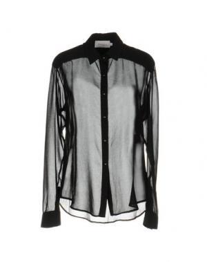 Pубашка PAOLO ERRICO. Цвет: черный