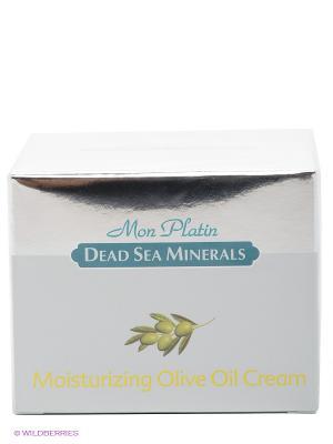 Увлажняющий оливковый крем, 50 мл Mon Platin DSM. Цвет: серебристый